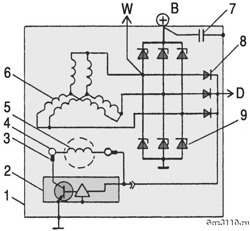 схема генератора.