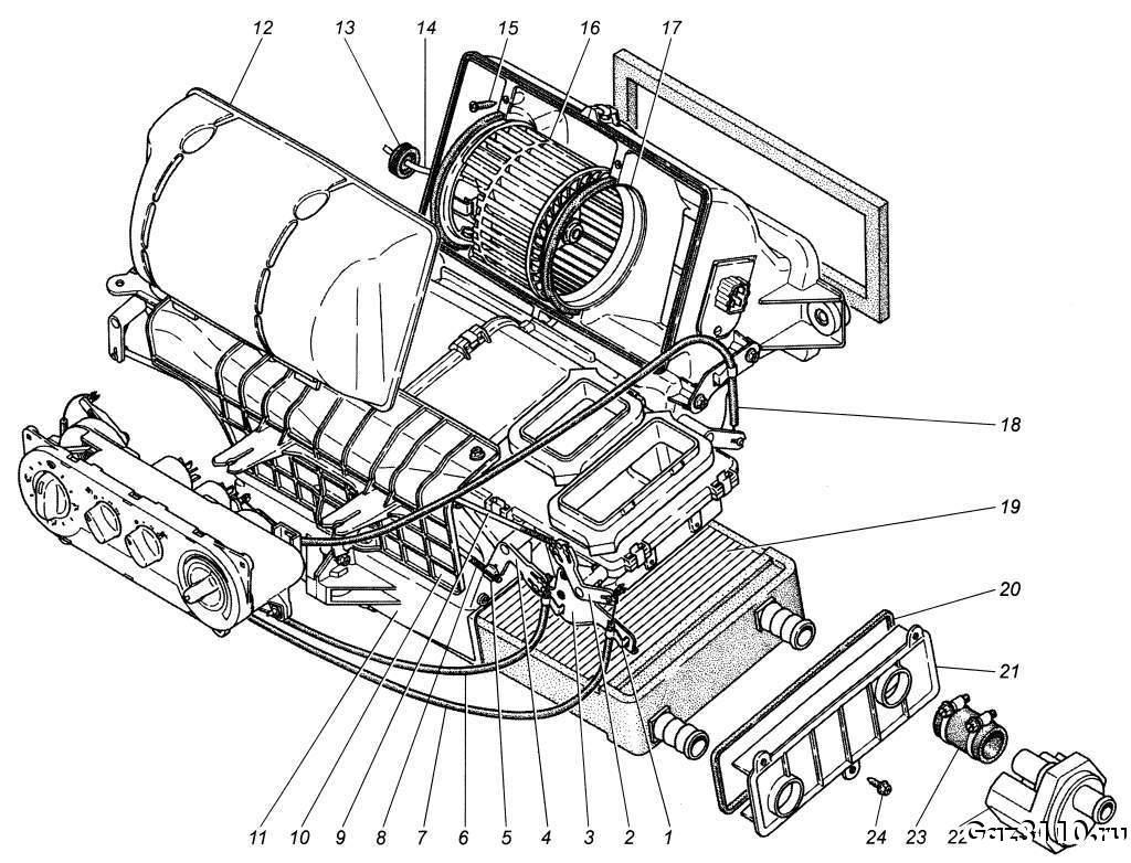 Схема системы отопления уаз патриот фото 107