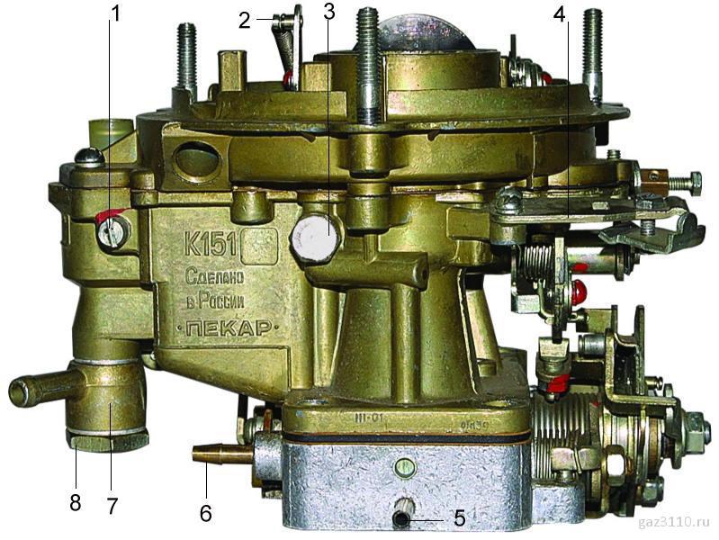 Карбюратор К-151 С двигатель