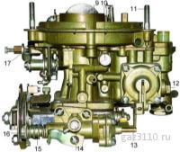 Карбюратор К-151 Д двигатель ЗМЗ-406 пр-во ПЕКАР.  Санкт-Петербург.